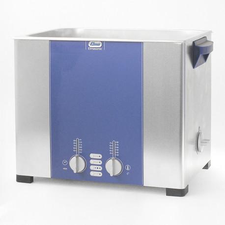 Bac Ultrason ELMA 12,5L Cuve de nettoyage dentaire Elmasonic S 130 H