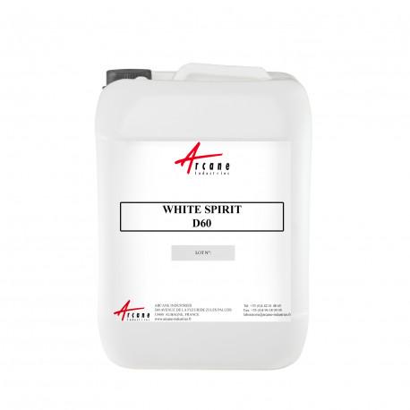 White Spirit Hydrocarbures Désaromatisés D60 20L