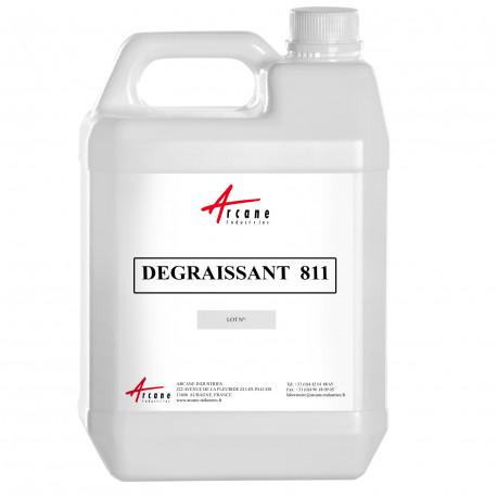 Dégraissant Alcalin Homologué en Contact Alimentaire DEGRAISSANT 811 Bidon 5L