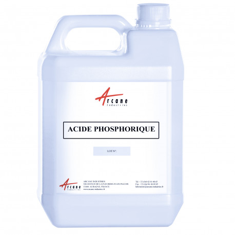 Acide Phosphorique Bidon 5L